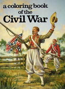 A Brighter Child - A Coloring Book of the Civil War
