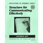 Applications of Grammar Book 2 Answer Key