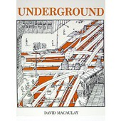 Underground Illustrated Book by David Macaulay