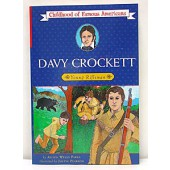 Davy Crockett (Childhood of Famous Americans Series)