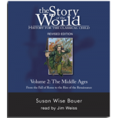 The Story of the World Volume 2: The Middle Ages, Audio CDs