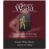 The Story of the World Volume 4:  The Modern Age,  Audio CDs