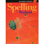 MCP Spelling Workout A, Grade 1 TE (2001/2002 Ed)