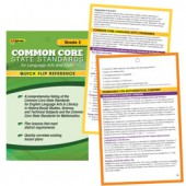 Common Core Standards for Grade 3 Quick Flip Reference