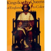 Kings and Queens of England Coloring Book