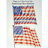 Flags of the American Revolution Coloring Book