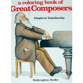 A Coloring Book of Great Composers, Volume 2