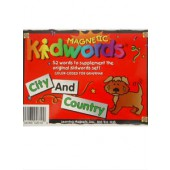Magnetic Kidwords®-City & Country Magnets
