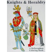 Knights & Heraldry Coloring Book