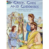 Greek Gods & Godesses Coloring Book