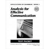 Applications of Grammar Book 3 Test