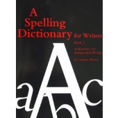 A Spelling Dictionary For Writers