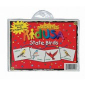 KidUSA State Birds Magnets