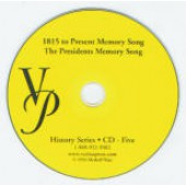 1815 To the Present Memory Song CD