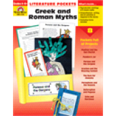 Literature Pockets ~ Greek and Roman Myths, Grades 4-6