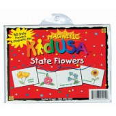 KidUSA State Flowers Magnets