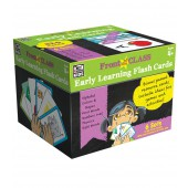 Front of the Class Early Learning Flash Card Cube