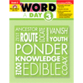 A Word a Day Grade 3