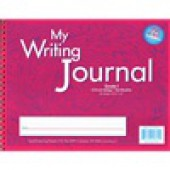 "Zaner-Bloser Writing Journal 5/8"" ruling Grade 1 - Liquid Color Pink"