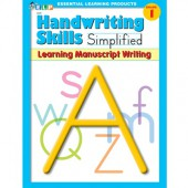 (Zaner-Bloser) Handwriting Skills Simplified - Learning Manuscript Writing Grade 1