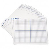 "9 "" x 11 "" Double-Sided X-Y Axis Dry-Erase Mat"