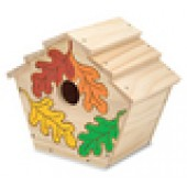 Build Your Own Wooden Birdhouse Kit