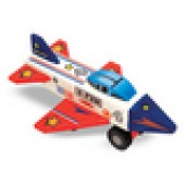 Decorate Your Own Wooden Jet Plane Kit