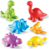 Back in Time Dinosaur Counters™, Set of 72