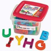 AlphaMagnets® Jumbo Uppercase Multicolored Magnets