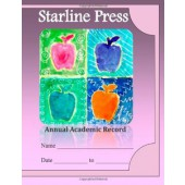Starline Press Academic Record Book