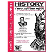 0-1799 AD Timeline Set, Resurrection to Revolution