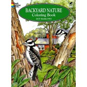 Backyard Nature Coloring Book