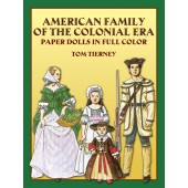 American Family Colonial Paper Dolls
