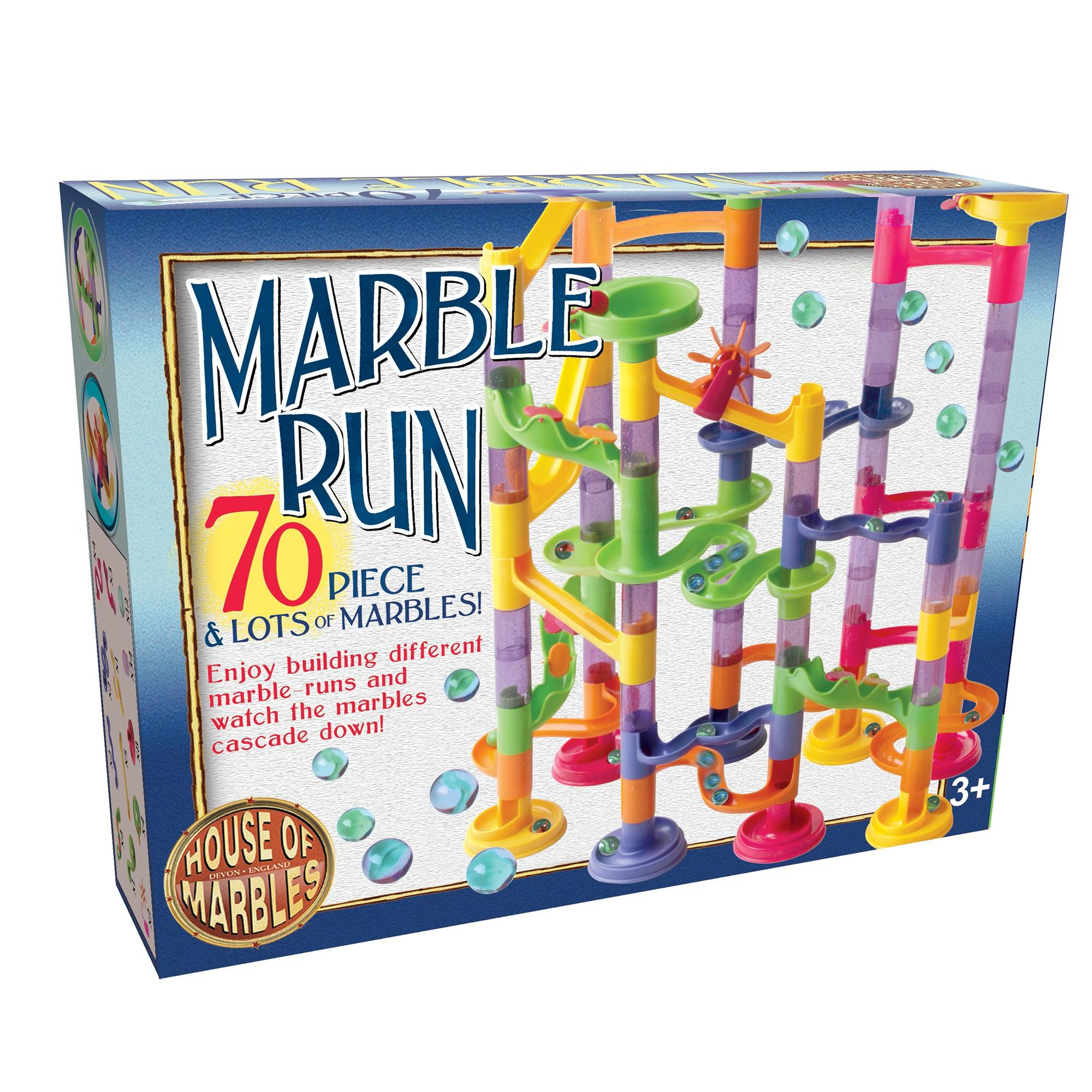 70-Piece Marble Run