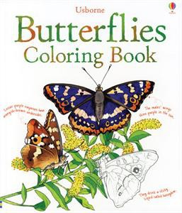 Usborne Butterflies Coloring Book