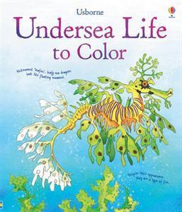 Usborne Undersea Life to Color