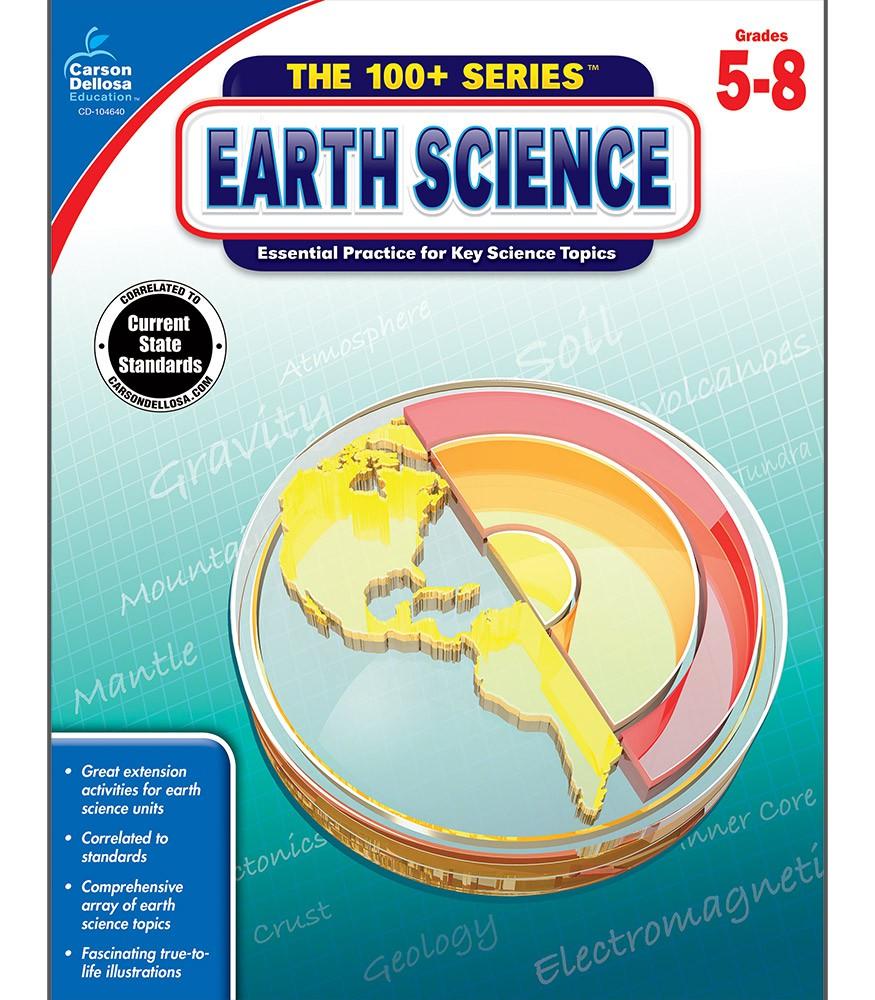 Earth Science 100+ Series Workbook Grades 5-8