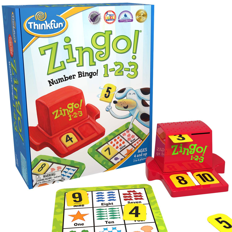 Zingo!® 1-2-3- Think Fun