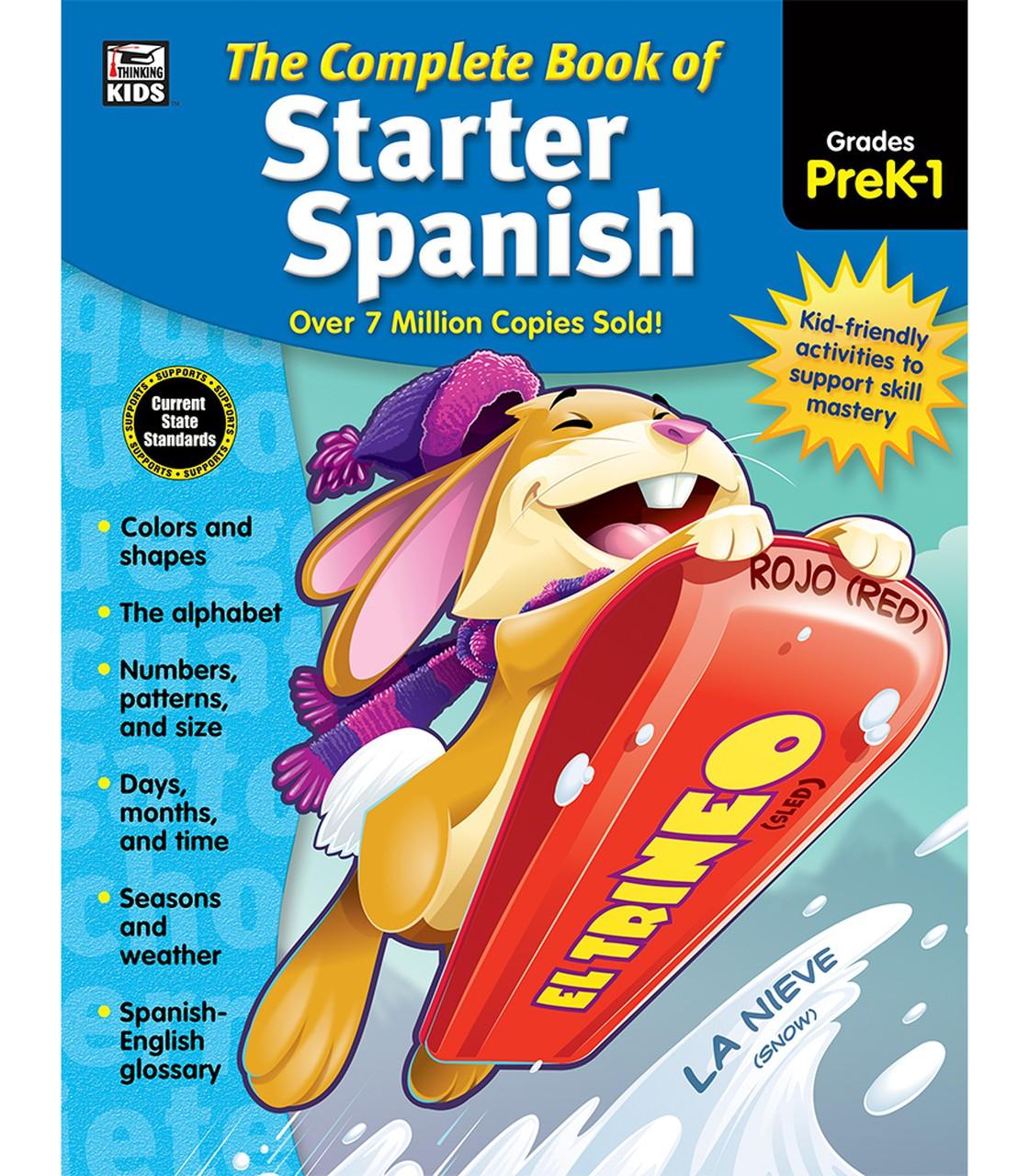 The Complete Book of Starter Spanish Workbook