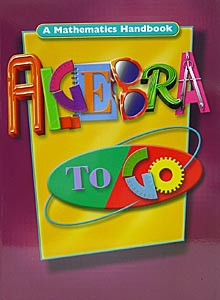 Algebra To Go Handbook