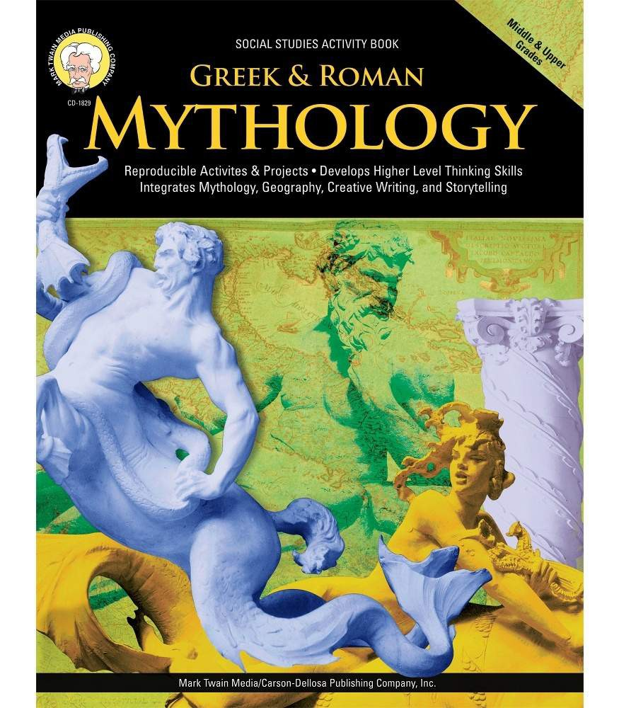 Greek & Roman Mythology Resource Book Grade 6-12
