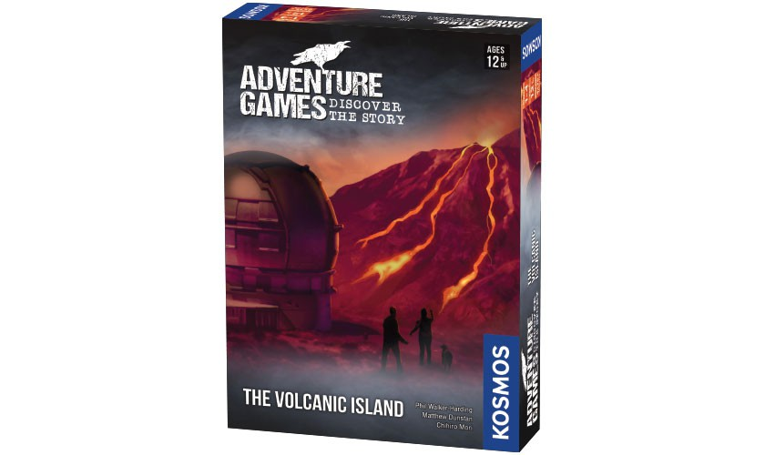 Adventure Games: The Volcanic Island, by Thames & Kosmos