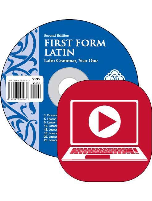 First Form Latin Pronunciation CD Second Edition
