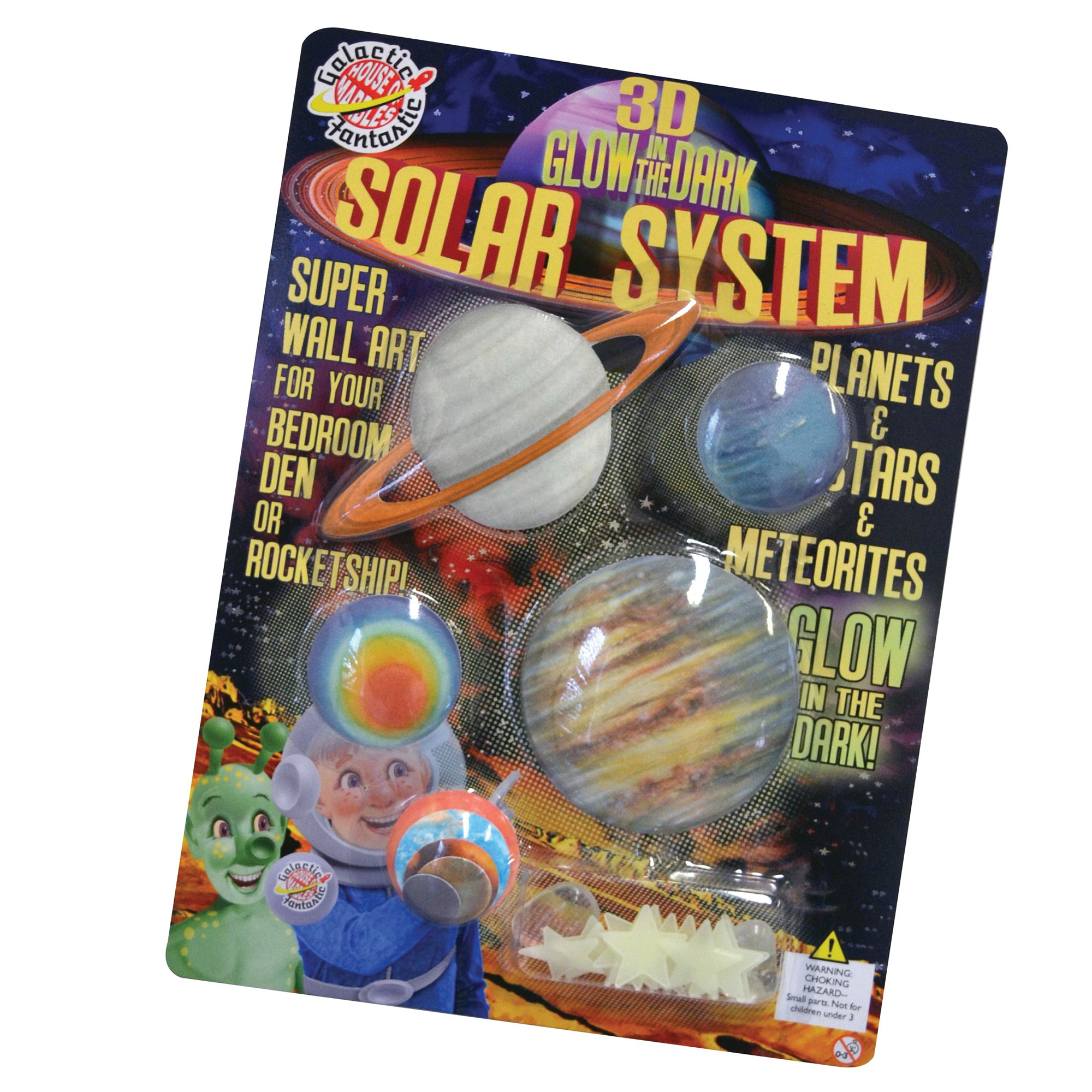 3D SOLAR SYSTEM WALL ART KIT