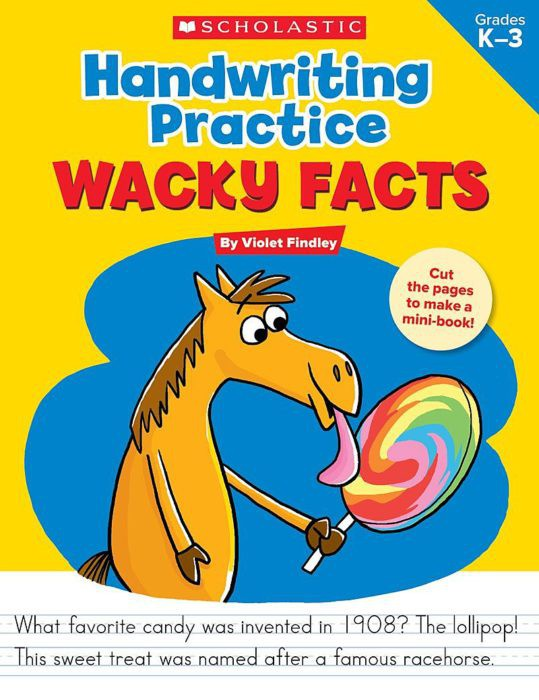 Handwriting Practice: Wacky Facts