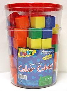 Color Cubes Soft Manipulatives