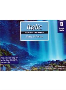 Italic Handwriting Book B (Getty-Dubay)
