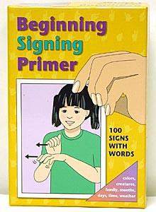 Basic Signing Vocabulary Cards C