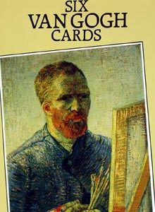 Six Van Gogh Art Postcards