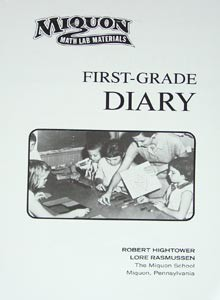 Miquon Math First Grade Diary